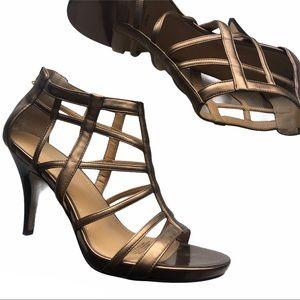 Nine West Caged Stilettos Sandals
